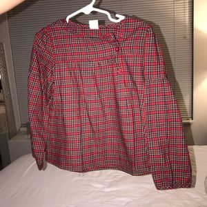 Baby Gap Plaid Top